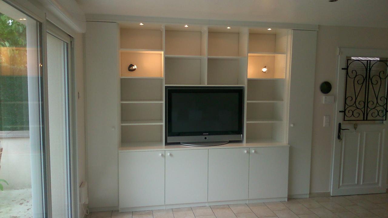Meuble TV/bibliothèque